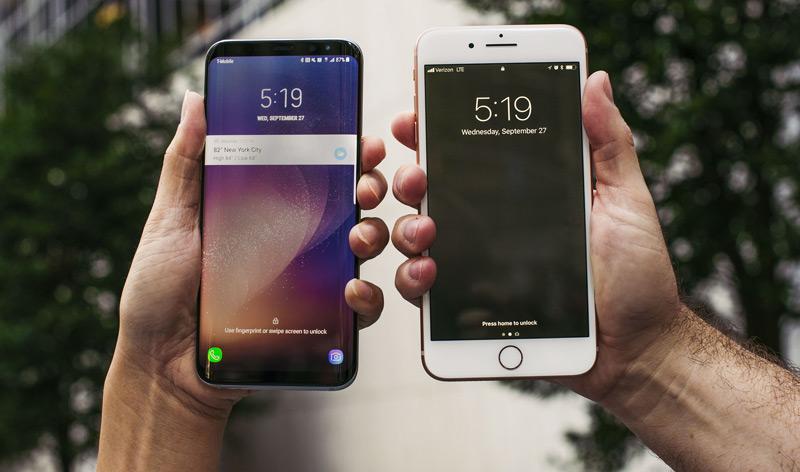 مقایسه اندروید و iOS برای ساخت اپلیکیشن