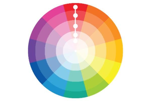 طراحی تک رنگ برای اپلیکیشن