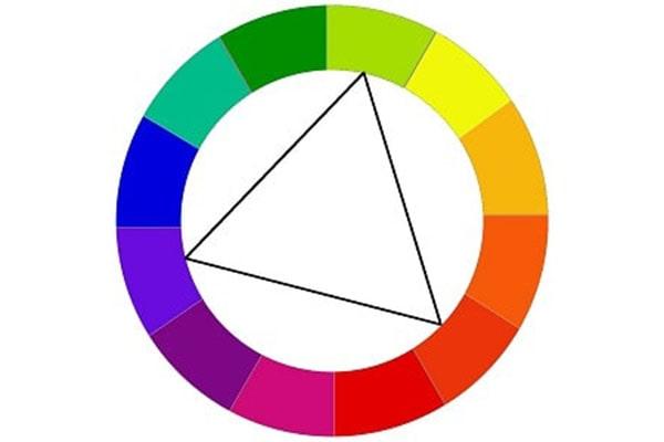 طرح رنگهای سهگانه برای اپلیکیشن