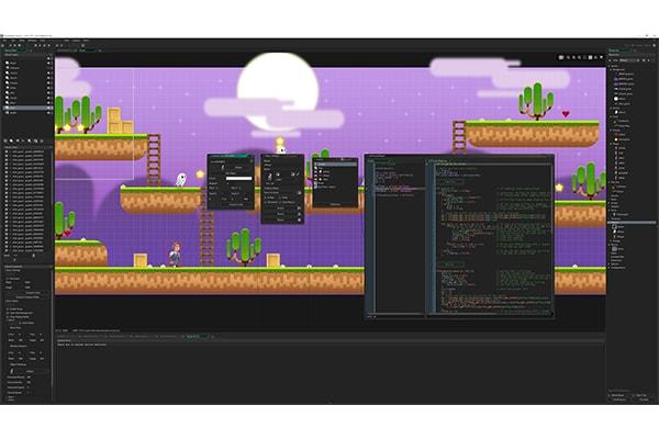 ابزار برنامه نویسی GameMaker Studio