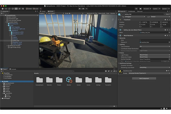 ابزار برنامه نویسی اندروید Unity 3D