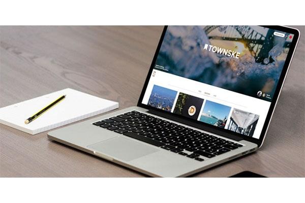 اپلیکیشن Townske طراحی شده با ری اکت نیتیو