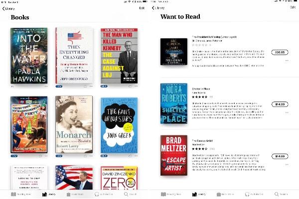 بهترین اپلیکیشنهای ios برای مطالعه و کتابخوانی: اپلیکیشن Google Play Books برای آیفون
