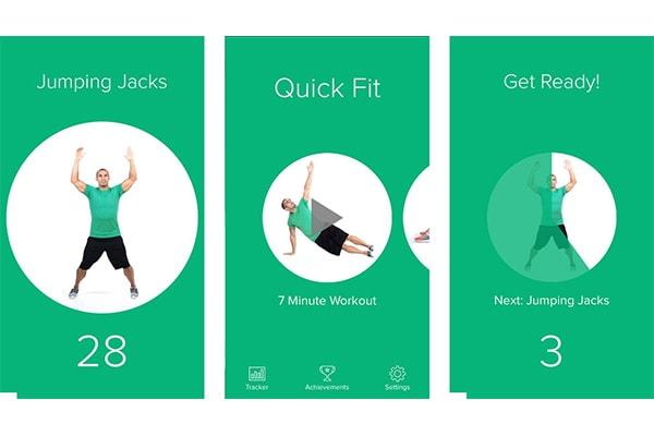 بهترین اپلیکیشن های ورزشی برای آیفون: پلیکیشن 7 Minute Workout